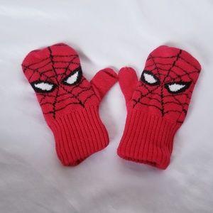 GAP Spider Man Mittens